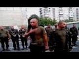 Ukrainian POWs And Angry Residents