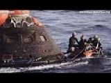 USS ANCHORAGE Navy Divers Recover NASA ORION SPACE CAPSULE ! PART 1