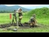 Ukrainian Rookies Firing A 120mm Mortar