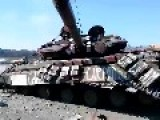 Ukrainian Neo-Nazis Once Again Lost Tank
