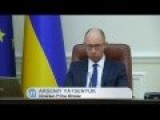 Ukraine Cuts State Funds To Insurgent Areas: PM Yatsenyuk Says Essential Supplies Will Continue