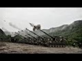 Ultra Powerful American And South Korean Self-Propelled Artillery Howitzers In Simultaneous Action