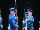 U.S. Air Force Honor Guard Performs In The Virginia International Tattoo