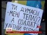 Ukrainian Girls Ask Patriotic Citizens To Donate Winter Clothes To Help Soldiers In East Front