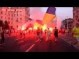 Ukraine Украина Crisis War : BUTCHERS OR MEAT Of WWIII Neo Nazis Marching In Zaparozhie