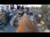 Ukranian Soldiers Convert Tank's Gun Barrel Into Selfie Stick