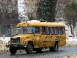 Ukrainian Army Bus School Bus