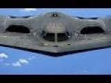 US Air Force B2 Bombers At UK Royal Air Force Base