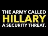 US ARMY UNCLASSIFIED BRIEF LISTS HILLARY CLINTON AS AN INSIDER THREAT