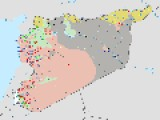 UPDATED WAR MAP OF SYRIA SEPTEMBER 12 2014