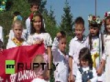 Ukraine: These Kid Soldiers Hope To Be Ukrainian Army's Next Recruits