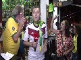 Ukraine Reporter Gets Brazil Treatment