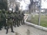 "Ukranian Naval Officers Tell Russians Who Try To Get Into Their Base To ""F**k Off""…And They Do"