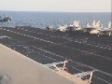 US Resumes Operations In Iraq - Footage From USS George H.W. Bush