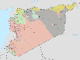 UPDATED WAR MAP OF SYRIA AUGUST 16 2014