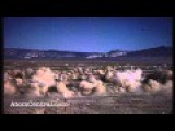 Underground Nuclear Test Creates A Subsidence Crater