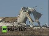 UK: GIANT Wind Turbine Collapses In Northern Ireland