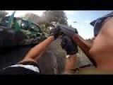 Ukrainian Paramilitary Ambushed By Sniper During Heavy Fighting In Marinka