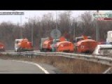 Ukraine - Another Humanitarian Convoy From Russia Comes To Lugansk