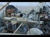 USMC Snipers Shot Small Boat With Barrett M107 .50 BMG Rifles