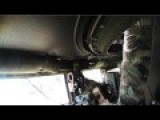 U.S. Special Forces In A Mini-gun Equipped Humvee Engaging Enemy