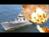 US Navy Ship 2975 Destroyed By Submarine And Anti-ship Missile During SINKEX Exercice