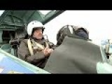 Ukrainian President Rides Fighter Jet To Boost Morale Against Russia