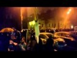 Ukraine Police Clear Pro-Fascist Protesters In Kiev 27 Feb 2015