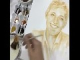 Unique Portrait Of Ellen DeGeneres