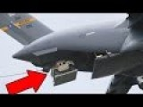 USAF Planes Drop Humvees And Paratroopers - C-17 Globemaster C-130 Hercules