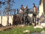 U.S Backed Al-Qaeda Rebels Using TOW Agains BMP But Miss The Target Again And Hit The Wall Instead