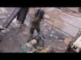 Ukraine - Militias Firing Heavy Machine Gun At Positions Of The Ukrainian Army