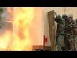 Ugandan Soldiers Assaulting Room