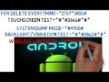 Useful Android Secret Codes