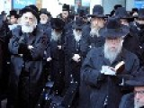 Ultra-Orthodox Jews Rally Against Proposed Israeli Draft