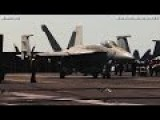 USS George H.W. Bush. Hornet F A-18 Preparing To Be LAUNCHED For His GLORIOUS MISSION