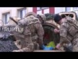 US Troops Receive Warm Welcome In Poland