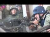 Ukrainians Angry At Russian Movie Star Firing Machine Gun At Kiev Position Just For Fun