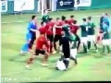 U20 Northern Ireland Vs U20 Mexico Football Fighting