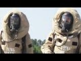 US Marines During Chemical Warfare Training