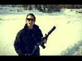 UZI Machinegun Silenced With Gemtec MK-9K