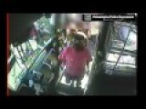 Unprovoked Black Female Attacks White Gentleman On Septa Bus - No One Helps
