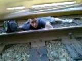 Under The Train - Darwin Award Nominee
