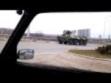 Ukraine WAR NEWS 2015 -- Russian Army BTR 82A Seemingly Finally Leaving Belgorod To The South