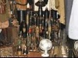 UK Garage Containing Hundreds Of Bombs Guns And Grenades And Shells