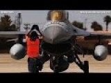 ULTIMATE AERIAL KNIGHTS F-15, F-16, F-22 Taxiing All Over Nellis Airfield