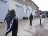 Ukrainian Soldiers Chase Some Provocateurs From Their Base In Feodosiya