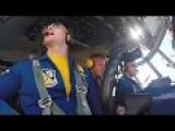U.S.Navy Blue Angels C-130T Fat Albert In Cockpit Video