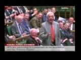 UK Parliament: Dennis Skinner Chucked Out For Dodgy Dave Comment
