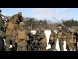 U.S. Marines Live Fire Artillery Exercise In Northern Japan